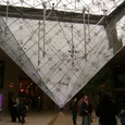 ルーヴル美術館地下