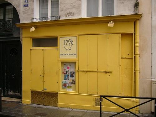 パリの小さな店③