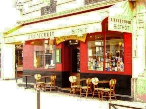 パリの小さな店⑦