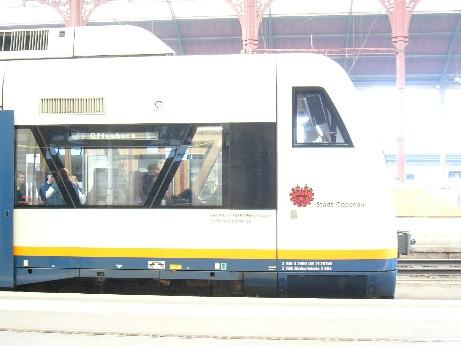 列車の横顔