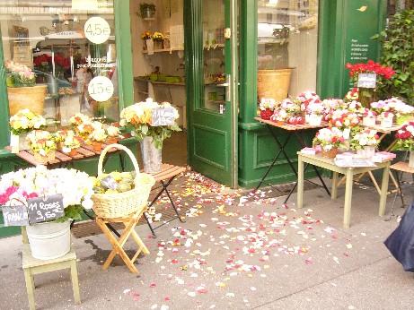 フランスの花屋